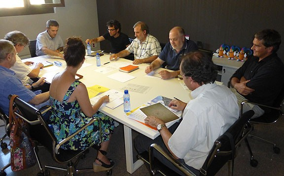 Grup de Treball dels Amics del Teatre Conservatori. Foto: ATC