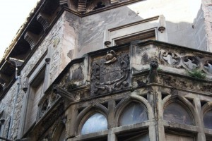 Casa Llissach, al carrer de les Piques (Manresa). Fotografia: Antonio Mora Verges