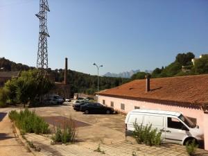 La colònia industrial de Manresa, els Comtals