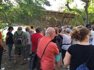 Visita dels ponts de la ciutat, Manresa Desconeguda. Fotografia: Jordi Serracanta