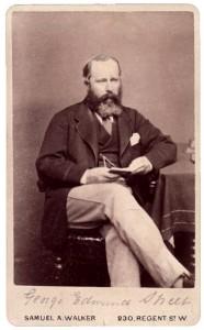 Retrat fotogràfic de l'arquitecte anglès George Edmund Street (1824-1881)