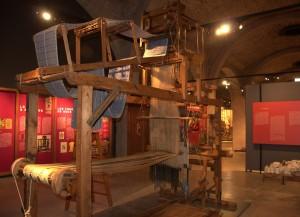 Teler de Jacquard exposat al Museu de la Tècnica de Manresa. Fotografia: Ramon Barcons