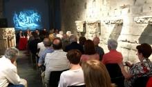 """Presentació del llibre a l'espai """"Manresa 1522"""". Fotografia: Pere Culell"""