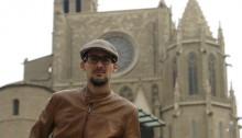 Jordi Bonvehí és soci del Centre d'Estudis del Bages i coordinador del projecte Viatgers a Manresa. Durant un any ha estat recopilant arxius de tot tipus (fotografies, poemes, dibuixos...) que han realitzat de la ciutat diverses persones que hi han fet parada. Amb tota la documentació ha creat una línia cronològica que es pot veure al web del CEB. Foto: Jordi Preñanosa Serra