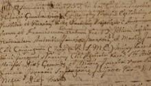 Carta dels consellers de Manresa al rei demanant la exempció d'imposts, a causa dels efectes de la Pesta Negra a la ciutat. (Arxiu de la Corona d'Aragó, CANCILLERÍA, Cartas Reales, Alfonso IV)