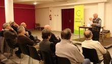 Presentació del llibre de Joan Requesens i Piquer. Fotografia: Ramon Cornet (CEB)