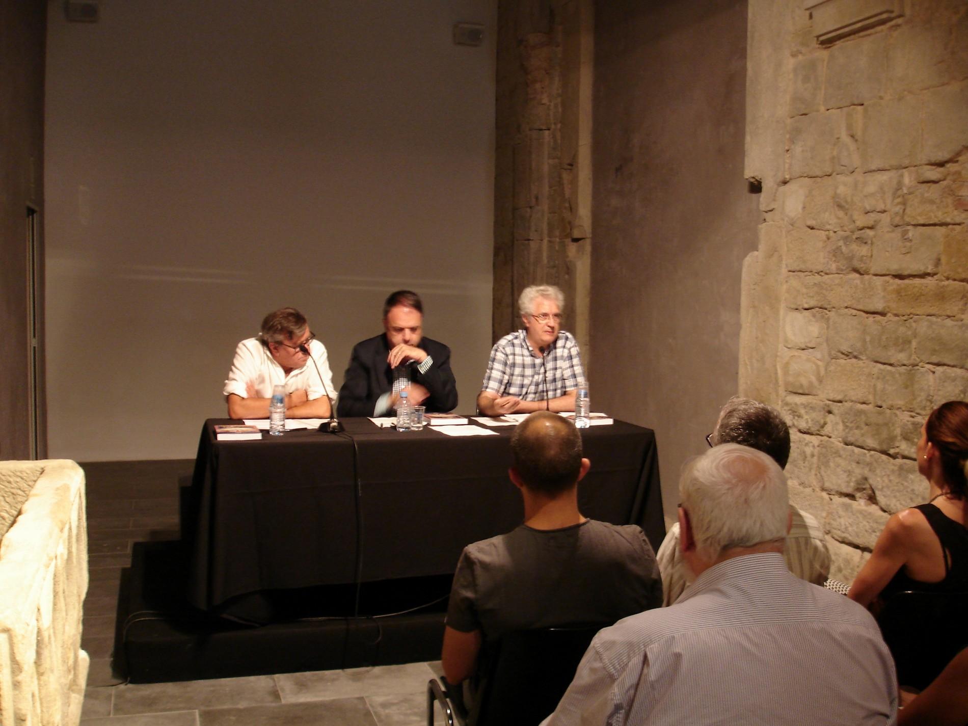 Presentació del llibre a l'Espai 1522. Fotografia: Ramon Cornet (CEB)