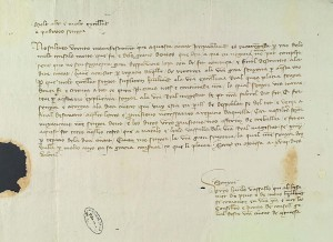 Cancillería Cartas Reales. Archivo de la Corona de Aragón