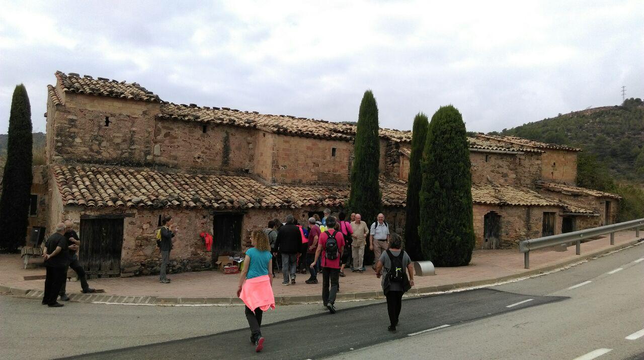 Visita Callús. Foto: CEB