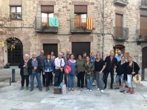 Grup de voluntaris de les Jornades de Patrimoni FOTO.AJUNTAMENT DE SANTPEDOR
