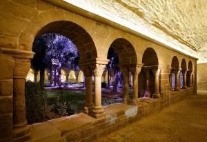 Interior del monestir de Sant Benet de Bages. Fotografia: Món Sant Benet