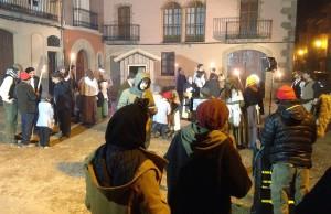 Simulació d'una reunió clandestina de presparació de la Revolta dels Burots d'Artés | AjArt